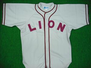 1937~40年のライオンユニフォームシャツ