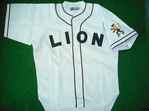 1937~40年のライオンユニフォームシャツ 白