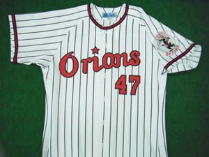 1966年東京オリオンズ  ホームユニフォームシャツ