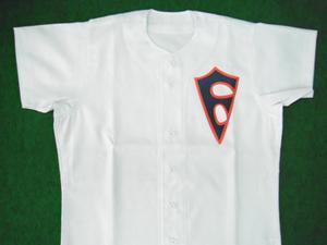 1948年の急映フライヤーズのユニフォームシャツ