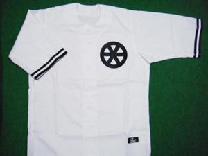 1943年の西鉄ユニフォームシャツ