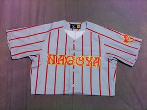 1937~38年の名古屋ユニフォームシャツ