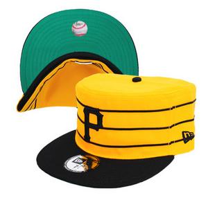 ピッツバーグ・パイレーツ型帽子を作りませんか