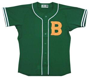 1947年の国民野球連盟  結城ブレーブスのユニフォームシャツ