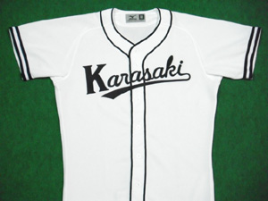 1947年の国民野球連盟  唐崎クラウンのユニフォームシャツ